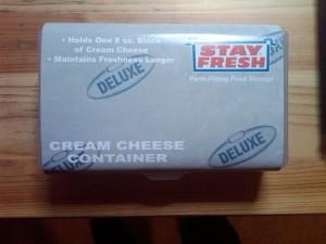 Cream cheese box