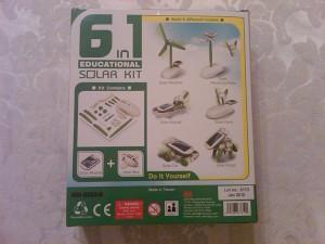 6-in-1 Educational Solar Robot Kit