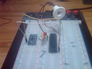 Arduino and M5451 LED driver