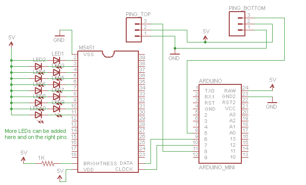 Merveilleux LED Stairs Schematic.